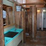 Bathroom at Kinbasket Resort