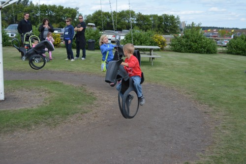 Tire Swings at Kraay Family Farm