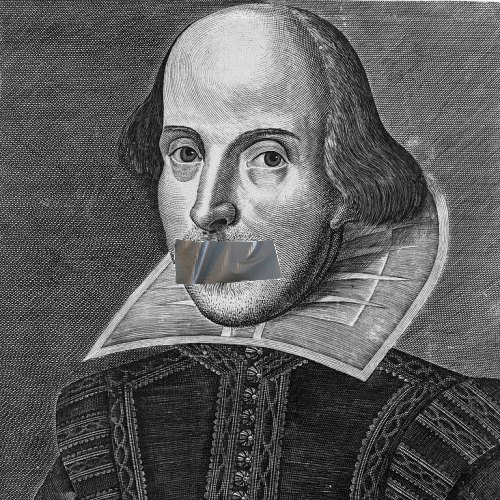 Shakespeare With Duct Tape Mouth