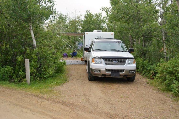 Miquelon Lake Campsite