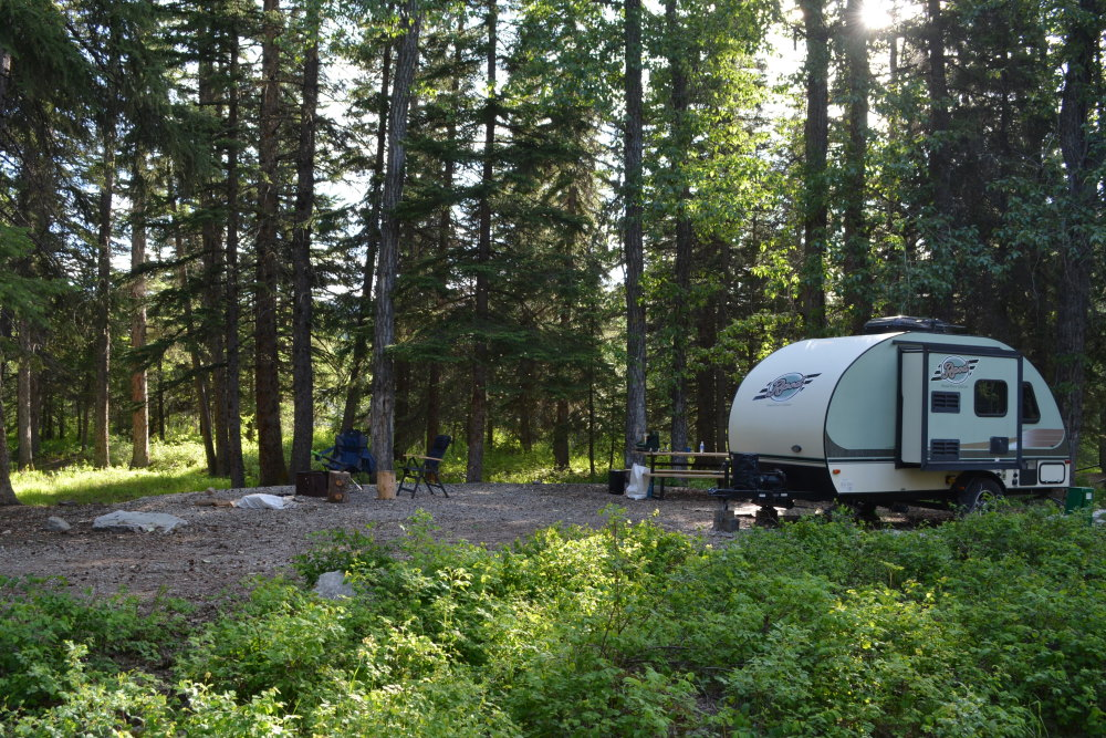 Rpod on campsite
