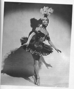 "Janet Collins, 1917-2003, broke many color barriers and lived to see almost an entire century of dance's evolution. From the African American Registry (http://www.aaregistry.org/historic_events/view/janet-collins-prima-ballerina): From New Orleans, Louisiana, she moved with her family to Los Angeles as a young girl, attending Los Angeles City College and the Los Angeles Art Center School. As an accomplished painter, she was able to finance her relocation to New York to pursue a career in dance. In 1941, she performed with the new, but world-renowned Black dance troupe formed and directed by Katherine Dunham. At the age of fifteen, Collins successfully auditioned for the Ballet Russe de Monte Carlo at the Philharmonic, but after being told she would have to paint her face white to perform, she declined the offer. Having told her aunt what happened, she was advised, ""You get back to the barre and start your City exercises. Don't try to be good, be excellent."" In 1949, Collins made her New York debut in a solo concert. As a prima ballerina in 1951, she became the first Black artist to perform on the stage of the Metropolitan Opera House in New York. Starring in the 1951 production of Cole Porter's Out of This World, Collins won the Donaldson Award, signifying the best dancer on Broadway. She remained with the Met until 1954, dancing in Carmen, Aida, La Gioconda, and Samson and Delilah, after which she toured the United States and Canada in solo dance concerts. Having taught at several colleges and dance institutions in New York and California, she retired and resided in Seattle. Janet Collins died in June 2003 in Forth Worth, Texas."