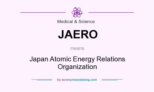 What does JAERO mean? - Definition of JAERO - JAERO stands ...