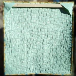 Acropatch-Scrappy_quilt-Motif-Quilting-Légo-fil-multicolore-sur l'envers