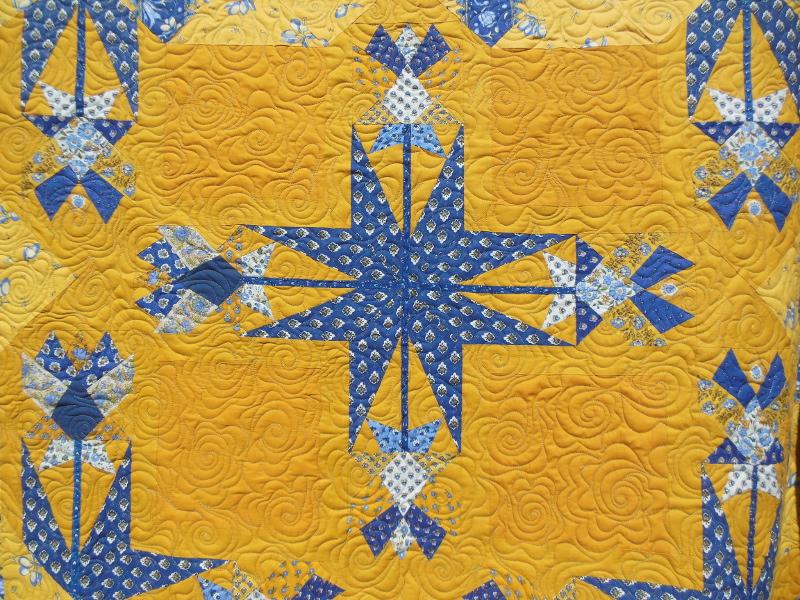Acropatch-Motif-Quilting-GROSSE FLEUR-couvre_lit-fil-multicolore