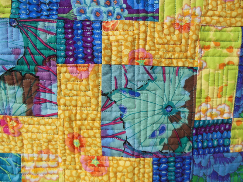 Acropatch-Motif-Quilting-LABYRINTHE-plaid-fil-multicolore