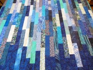 Acropatch-Motif-Quilting-SPIRALE-plaid-fil-dégadé-bleu
