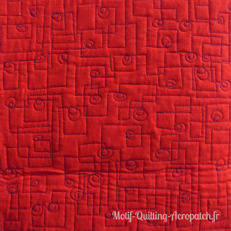 Acropatch-motif-quilting-PICASSO CARRE