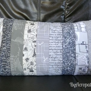 Acropatch-Housse-Coussin-tons-gris-Collection-Paname-30x50cm-C377R