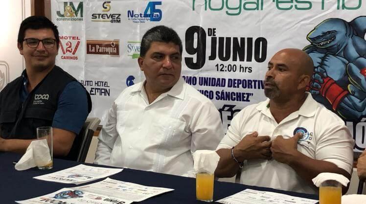 """Fue presentada la edición #12 del certamen de fisicoconstructivismo """"Mister Tiburón 2019"""", el cual se realizará el próximo 9 de junio en el Domo de la Unidad Deportiva Hugo Sánchez Márquez de Boca del Río."""