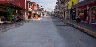La calle Francisco Javier Clavijero, en el tramo que va de Melchor Ocampo a Guadalupe Victoria, se reabrirá a la circulación vehicular este sábado 1 de junio.
