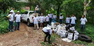 Se realizó la campaña 'Limpiemos México', de Fundación Azteca, en coordinación con la Secretaría de Medio Ambiente y Recursos Naturales (SEMARNAT) y Grupo Bimbo, con la participación de la Secretaría de Medio Ambiente (SEDEMA).