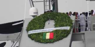 La Secretaría de Marina-Armada de México y el Sector Marítimo Nacional rindieron homenaje a los marinos mexicanos, en la Conmemoración del 102 aniversario de la Nacionalización de la Marina, en el puerto de Veracruz.