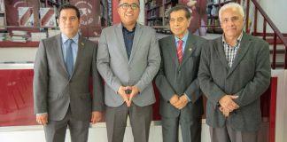El Maestro Jorge Miguel Uscanga Villalba visitó la Universidad de Xalapa por una cortesía del Rector Dr. Carlos García Méndez. Cabe mencionar que el Mtro. Jorge Uscanga es exalumno de licenciatura y maestría de esta casa de estudios.
