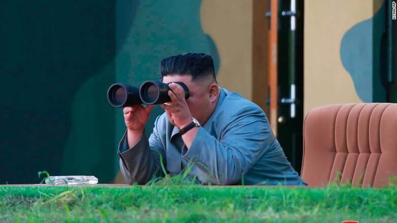 El Estado Mayor Conjunto de Corea del Sur Corea del Norte disparó este miércoles varios misiles desde su costa este.