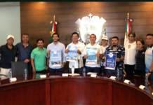 En conferencia de prensa, fueron presentadas las actividades deportivas que se desarrollarán en el marco de las Fiestas de Santa Ana del municipio de Boca del Río.
