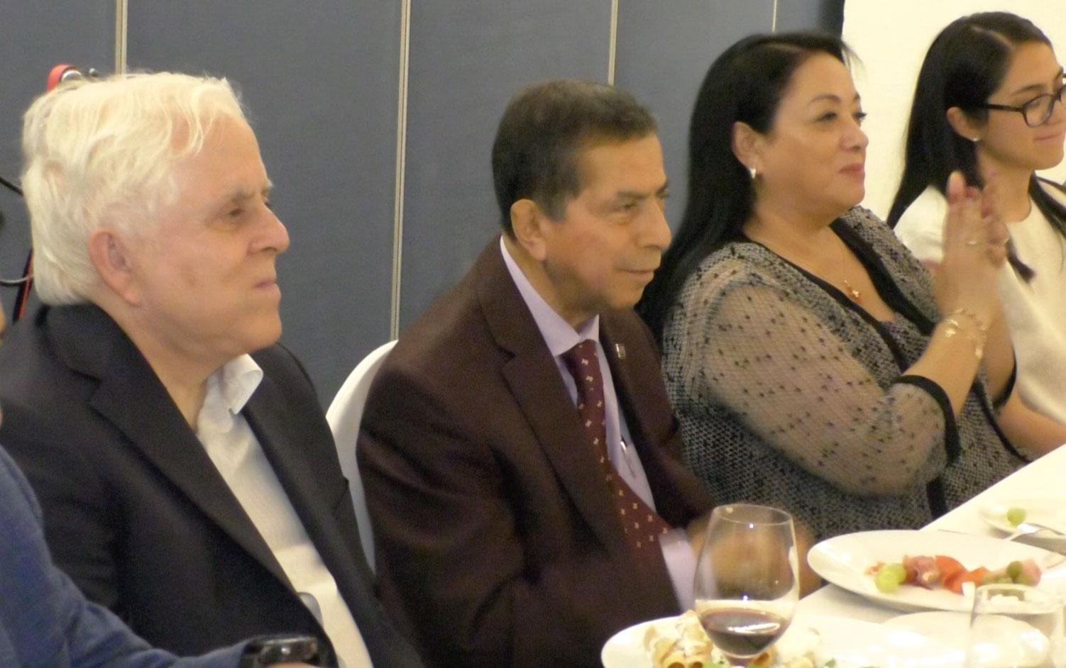 El Ministro en Retiro de la Suprema Corte de Justicia de la Nación, Genaro Góngora Pimentel estuvo en esta ciudad de Xalapa este miércoles 10 de julio, para cumplir con la invitación que le hizo el Dr. Carlos García Méndez, Rector de la Universidad de Xalapa.
