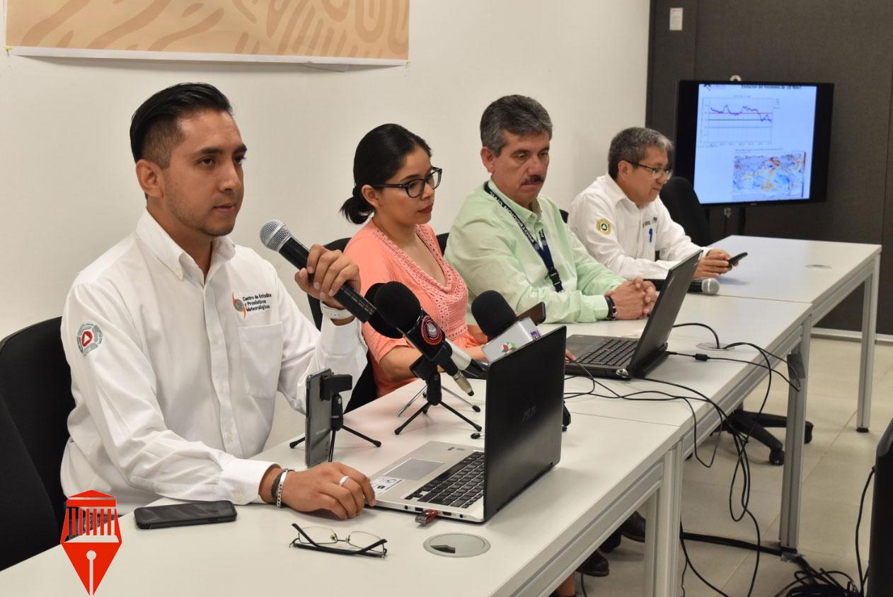 El especialista del Centro de Estudios Meteorológicos de Protección Civil, José Martín Cortez previó que durante agosto las lluvias estén por debajo del promedio para ese año.