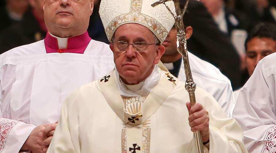 El papa Francisco instó este domingo al gobierno y oposición de Venezuela a que lleguen