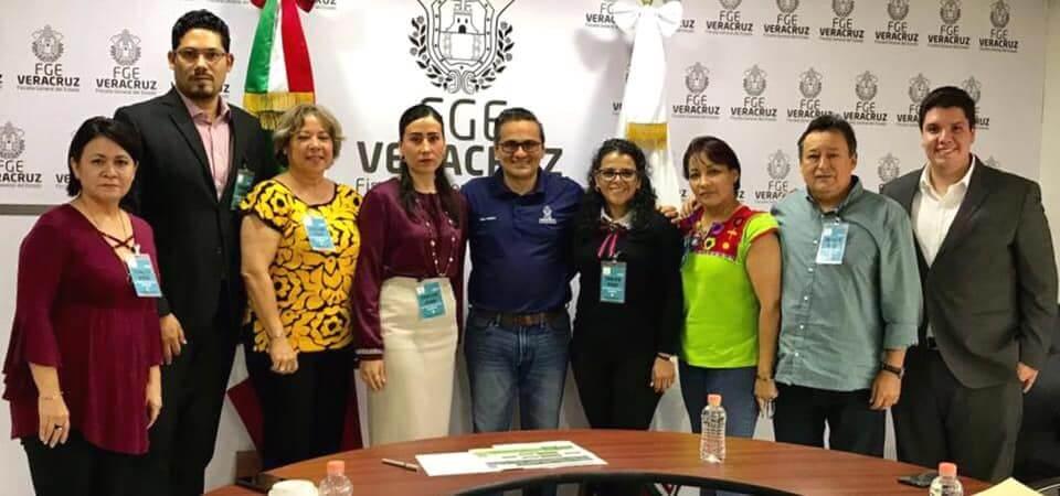 El Fiscal General del Estado, Jorge Winckler Ortiz, se reunió con los integrantes de la Asamblea Consultiva de la Comisión Ejecutiva Estatal de Atención a Víctimas (CEEAIV), a fin de abordar temas relacionados con las funciones de dicho órgano colegiado.