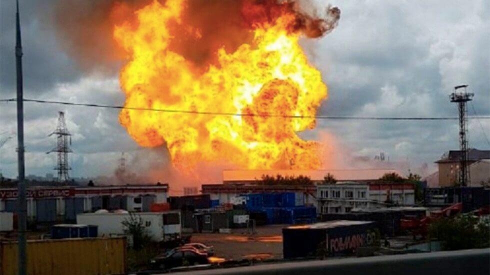 Este jueves se registró un incendio en la central termoeléctrica de Severnaya en Mytishchi, al norte de Moscú, que dejó al menos una persona muerta y 13 más heridas.