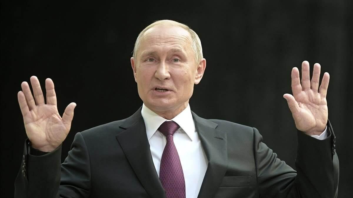 El presidente ruso, Vladímir Putin llamó a Estados Unidos a reanudar las negociaciones para garantizar la estabilidad y la seguridad mundial después de que ambas potencias abandonaran el primer tratado de desarme de la Guerra Fría (INF).