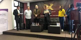 Este viernes, se llevó a cabo en la Universidad de Xalapa (UX) el conversatorio acerca de la relevancia que tiene el periodismo en el combate a la corrupción a cargo del Comité de Participación Ciudadana del Sistema Estatal Anticorrupción de Veracruz de Ignacio de la Llave.