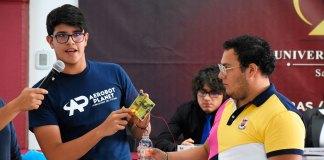"""Este viernes, se clausuró el #ElectroCamp2019 """"Robótica y programación para niños de 8 a 17 años"""" en la Universidad de Xalapa (UX)."""