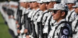 Elementos de la Marina, Secretaría de Defensa Nacional (Sedena) y de la Policía Federal concluyeron su adiestramiento como oficiales de la Guardia Nacional luego de graduarse en la sede de la Primera Zona Naval con base en Madero, Tamaulipas.