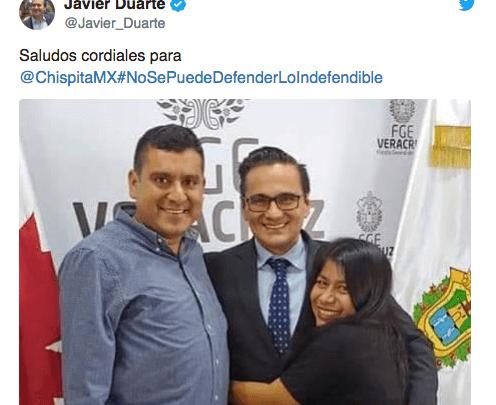 Tuit de Duarte es una amenaza: reportera