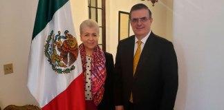 El secretario de Relaciones Exteriores, Marcelo Ebrard mantuvo un encuentro con la misión de México en la Organización de Estados Americanos (OEA) en Washington D.C.