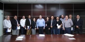 El titular de la Secretaría de Seguridad Pública (SSP), Hugo Gutiérrez Maldonado se reunió con dirigentes y miembros del sector empresarial de Xalapa.