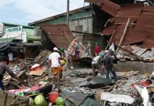 Un terremoto de magnitud 6.4 sacudió este miércoles la isla de Mindanao en el sur de Filipinas.
