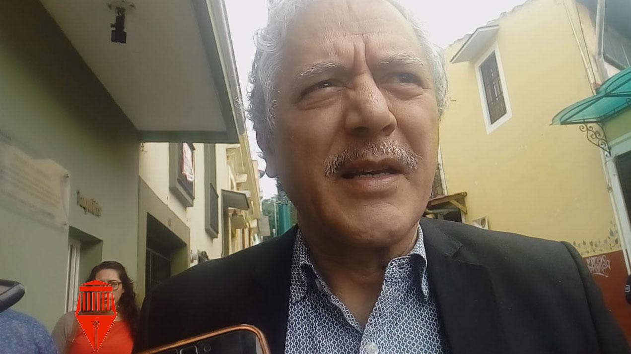El alcalde de Xalapa, Hipólito Rodríguez Herrero informó que la próxima semana presentará el plan e movilidad para la ciudad.