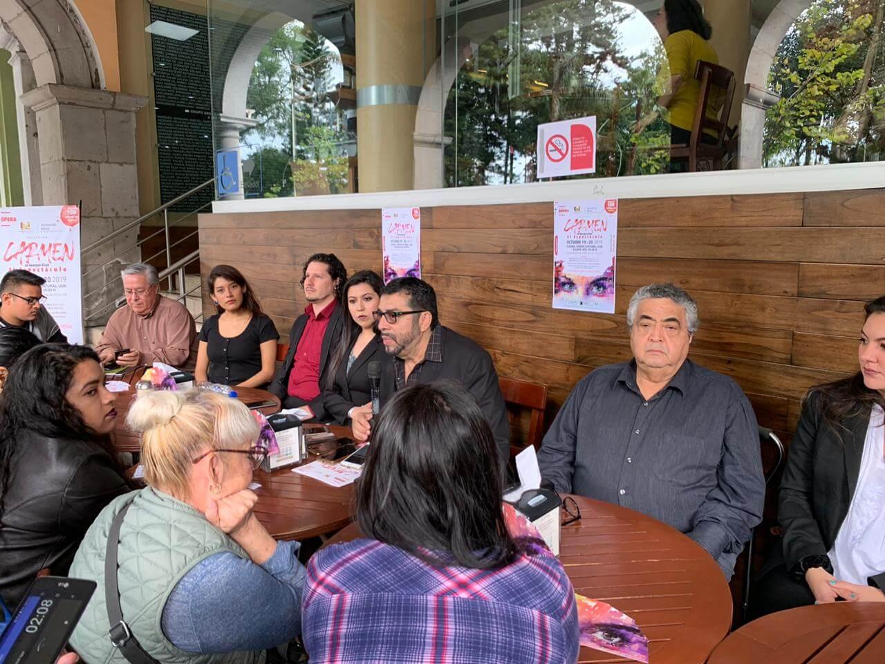 Armando Mora producciones realizaron una rueda de prensa, para presentar