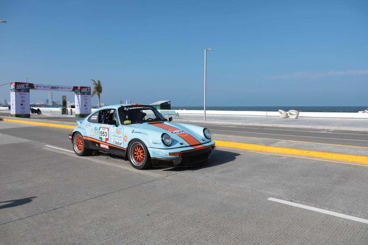 Este viernes, se realizó Carrera Panamericana en Boca del Río, luego de siete años de no presentarse en el estado de Veracruz.
