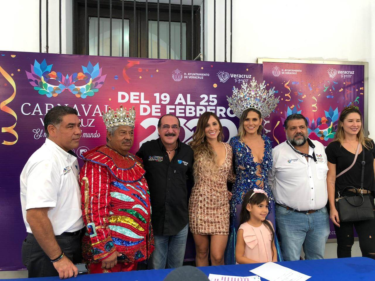 Este miércoles, se llevó a cabo el registro de Kerem Happuc Juárez Sánchez, como candidata a Reina del Carnaval de Veracruz 2020