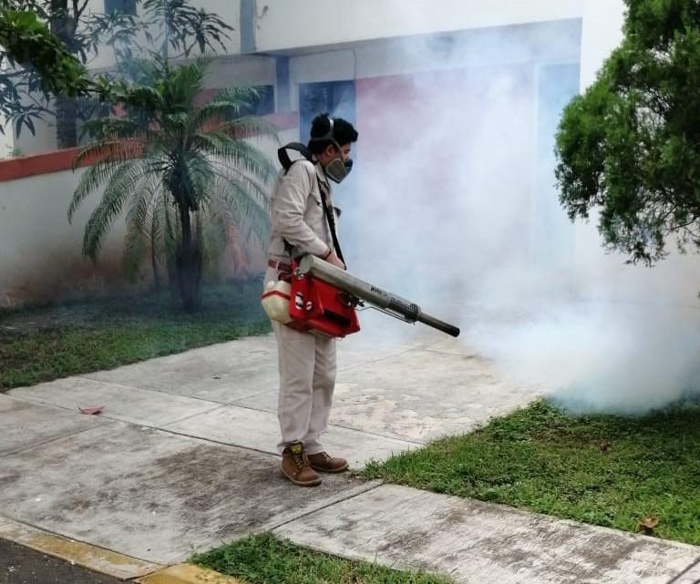 Continúa Salud con acciones preventivas para evitar criaderos de mosquitos