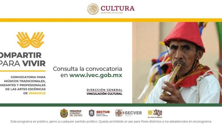 Emite IVEC la Convocatoria _Compartir para vivir_, sobre patrimonio cultural tradicional