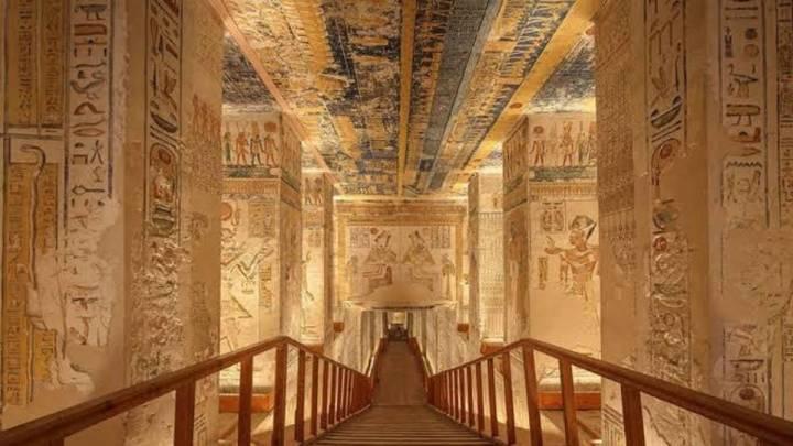 Egipto reabre la tumba de Ramsés I tras ser restaurada