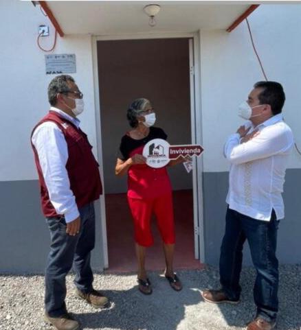 Beneficia el Gobierno de Veracruz á 140 familias del puerto.