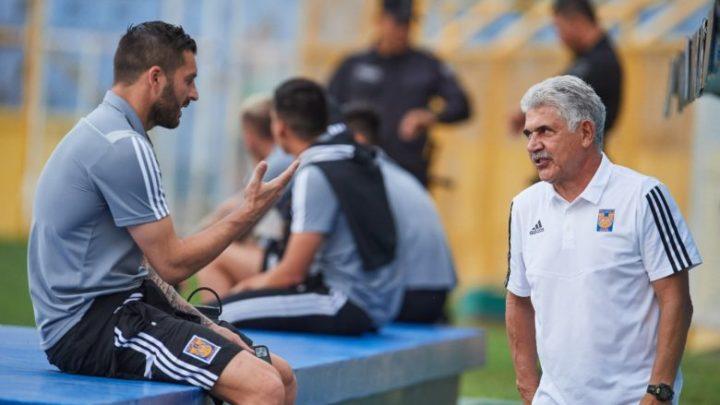 "El emotivo mensaje de despedida de Gignac al ""Tuca"" Ferretti"