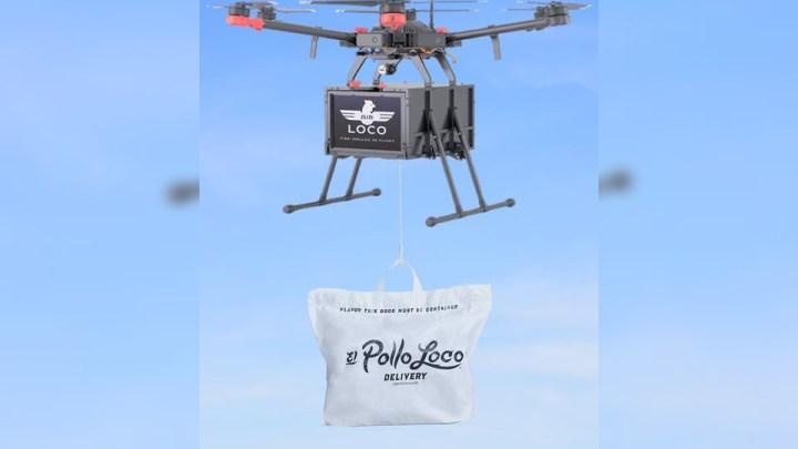 El Pollo Loco en EE. UU. comenzará a entregar pedidos con drones
