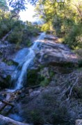 The waterfall at La Junta