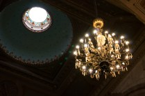 The main ceiling of Catedral Metropolitana