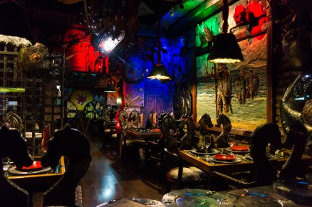 Santiago's premier Viking themed restaurant around the corner from our guesthouse