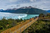 Perito Moreno Glacier north facing