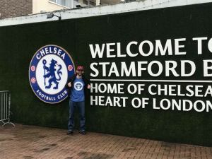 Matt Robards at Stamford Bridge