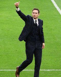 Frank Lampard in 2017 wearing suit