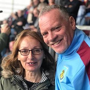 Pete Riley, Burnley fan
